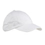 Big Accessories Mens Adjustable Hat - White