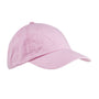 Big Accessories Mens Adjustable Hat - Light Pink