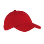 Big Accessories Mens Adjustable Hat - Red