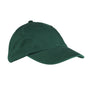 Big Accessories Mens Adjustable Hat - Dark Green