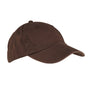 Big Accessories Mens Adjustable Hat - Coffee Brown