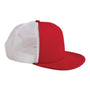Big Accessories Mens Adjustable Trucker Hat - Red/White
