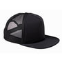 Big Accessories Mens Adjustable Trucker Hat - Black