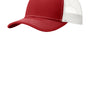 Port Authority Mens Adjustable Trucker Hat - Flame Red/White