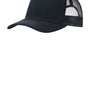 Port Authority Mens Adjustable Trucker Hat - Rich Navy Blue