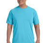 Comfort Colors Mens Short Sleeve Crewneck T-Shirt - Lagoon Blue