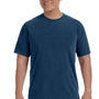 Comfort Colors Mens Short Sleeve Crewneck T-Shirt - Midnight Blue
