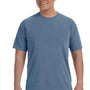 Comfort Colors Mens Short Sleeve Crewneck T-Shirt - Blue Jean