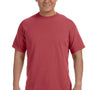 Comfort Colors Mens Short Sleeve Crewneck T-Shirt - Crimson Red
