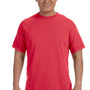 Comfort Colors Mens Short Sleeve Crewneck T-Shirt - Paprika Red