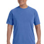 Comfort Colors Mens Short Sleeve Crewneck T-Shirt - Neon Blue