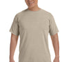 Comfort Colors Mens Short Sleeve Crewneck T-Shirt - Sandstone Brown