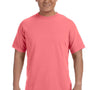 Comfort Colors Mens Short Sleeve Crewneck T-Shirt - Neon Red Orange