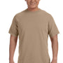 Comfort Colors Mens Short Sleeve Crewneck T-Shirt - Khaki