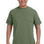 Comfort Colors Mens Short Sleeve Crewneck T-Shirt - Moss Green