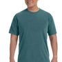 Comfort Colors Mens Short Sleeve Crewneck T-Shirt - Emerald Green