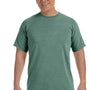Comfort Colors Mens Short Sleeve Crewneck T-Shirt - Light Green