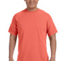 Comfort Colors Mens Short Sleeve Crewneck T-Shirt - Bright Salmon