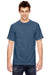 Comfort Colors C1717 Mens Short Sleeve Crewneck T-Shirt Navy Blue Front