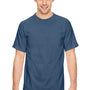 Comfort Colors Mens Short Sleeve Crewneck T-Shirt - True Navy Blue