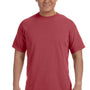 Comfort Colors Mens Short Sleeve Crewneck T-Shirt - Brick Red