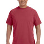 Comfort Colors Mens Short Sleeve Crewneck T-Shirt - Chili Red