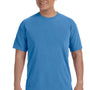 Comfort Colors Mens Short Sleeve Crewneck T-Shirt - Royal Caribe
