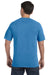 Comfort Colors C1717 Mens Short Sleeve Crewneck T-Shirt Royal Blue Caribe Back