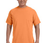 Comfort Colors Mens Short Sleeve Crewneck T-Shirt - Melon Orange