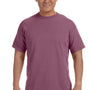 Comfort Colors Mens Short Sleeve Crewneck T-Shirt - Berry