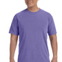 Comfort Colors Mens Short Sleeve Crewneck T-Shirt - Violet Purple