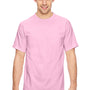 Comfort Colors Mens Short Sleeve Crewneck T-Shirt - Blossom Pink