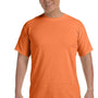 Comfort Colors Mens Short Sleeve Crewneck T-Shirt - Mango Orange