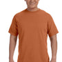 Comfort Colors Mens Short Sleeve Crewneck T-Shirt - Yam Orange