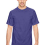 Comfort Colors Mens Short Sleeve Crewneck T-Shirt - Grape Purple