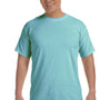 Comfort Colors Mens Short Sleeve Crewneck T-Shirt - Chalky Mint
