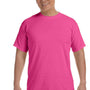 Comfort Colors Mens Short Sleeve Crewneck T-Shirt - Peony Pink