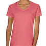 Comfort Colors Womens Short Sleeve V-Neck T-Shirt - Watermelon Pink