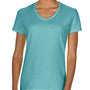 Comfort Colors Womens Short Sleeve V-Neck T-Shirt - Chalky Mint