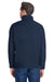 Columbia C6044 Mens Ascender Wind & Water Resistant Full Zip Jacket Navy Blue Back