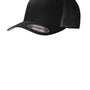 Port Authority Mens Stretch Fit Hat - Black
