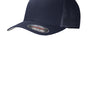 Port Authority Mens Stretch Fit Hat - True Navy Blue