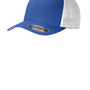 Port Authority Mens Stretch Fit Hat - True Royal Blue/White