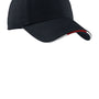 Port Authority Mens Adjustable Hat - Classic Navy Blue/Red/White
