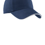 Port Authority Mens Adjustable Hat - Ensign Blue/White