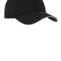 Port Authority Mens Adjustable Hat - Black