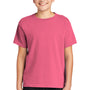 Comfort Colors Youth Short Sleeve Crewneck T-Shirt - Crunchberry Pink