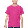Comfort Colors Youth Short Sleeve Crewneck T-Shirt - Neon Pink