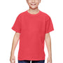 Comfort Colors Youth Short Sleeve Crewneck T-Shirt - Neon Red Orange