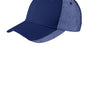 Port Authority Mens Adjustable Hat - Royal Blue/White